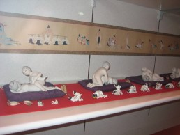Exhibition in Beppu's Sex Museum.