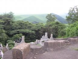 Cemetery in Beppu.