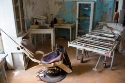 Old medical machinery, Patarei prison, Patarei prison Tallinn
