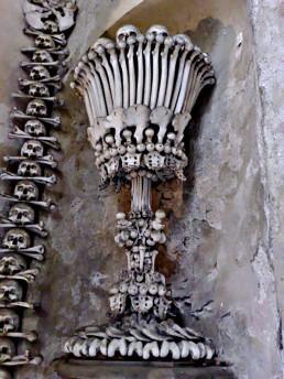 Bone chalice, Kutna Hora, Czech Republic