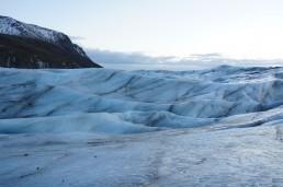 Svínafellsjökull glacier, Iceland.