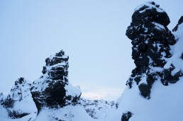 Views of Dimmuborgir, Iceland