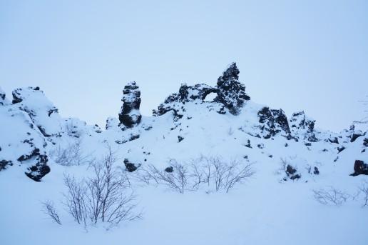 Dimmuborgir (The Dark Castle), Iceland