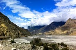 World's deepest river gorge, Kali Ghandaki, Nepal