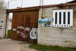 Patarei prison gate, Patarei prison, Patarei prison Tallinn