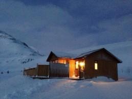 A cabin in Seydisfjördur, Iceland
