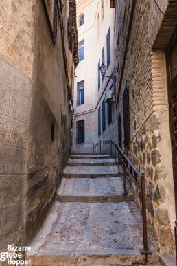 Alley in Toledo, Spain