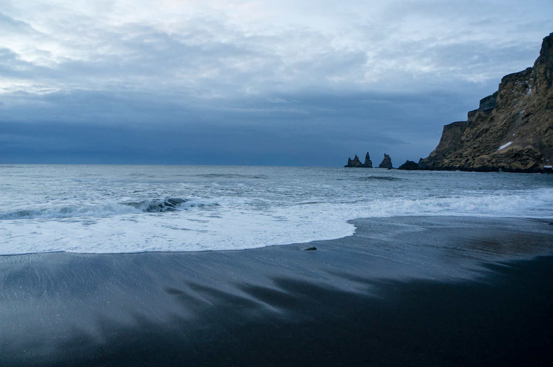 Black Sand Beach Iceland Ring Road