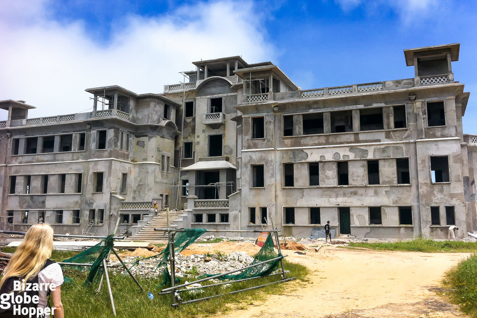 The Old Bokor Palace And Casino Under Renovation In Hill Station Cambodia