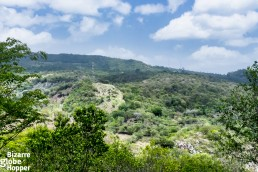 Border to Honduras in Somoto Canyon, Nicaragua