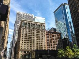 Chicago skyline in Illinois, USA