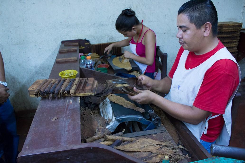Cigar workers in Esteli Nicaragua