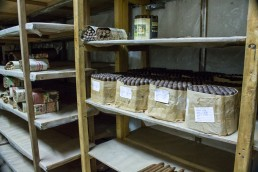 Cigars in a cooling room in Esteli