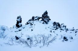 The Gate of Hell, Dimmuborgir, in Iceland