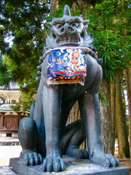 Guardian of the temple in Koyasan, Japan