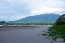 beach of Hotel Xalli in Isla Ometepe, Nicaragua