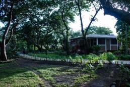 grounds of Hotel Xalli in Isla Ometepe, Nicaragua