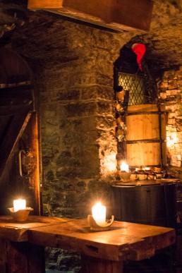 A Medieval bar Draakon in Old Town, Tallinn