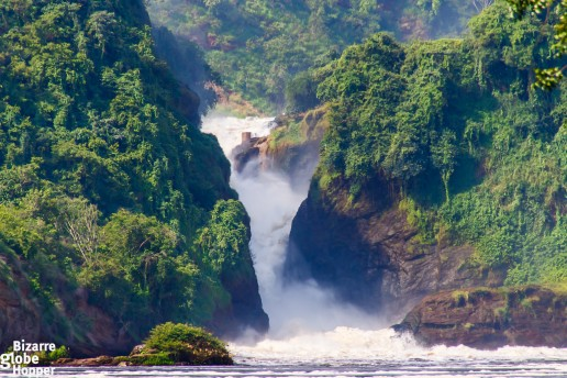 The Murchison Falls itself, Uganda