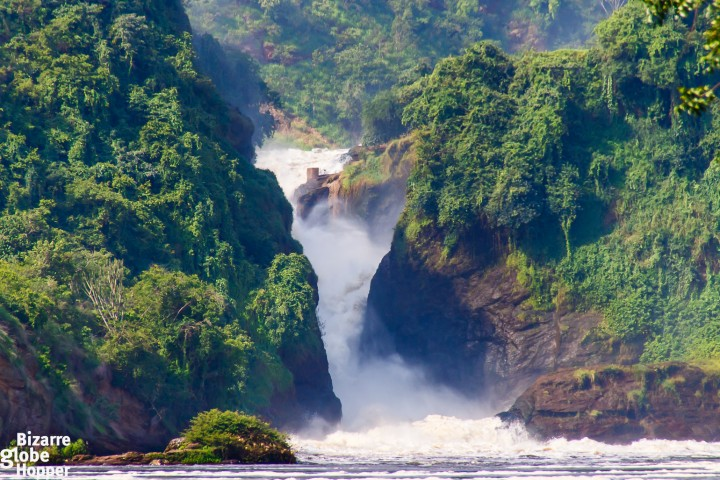 The Murchison Falls itself, Uganda