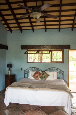 Our room at Rancho Chilamate, Nicaragua
