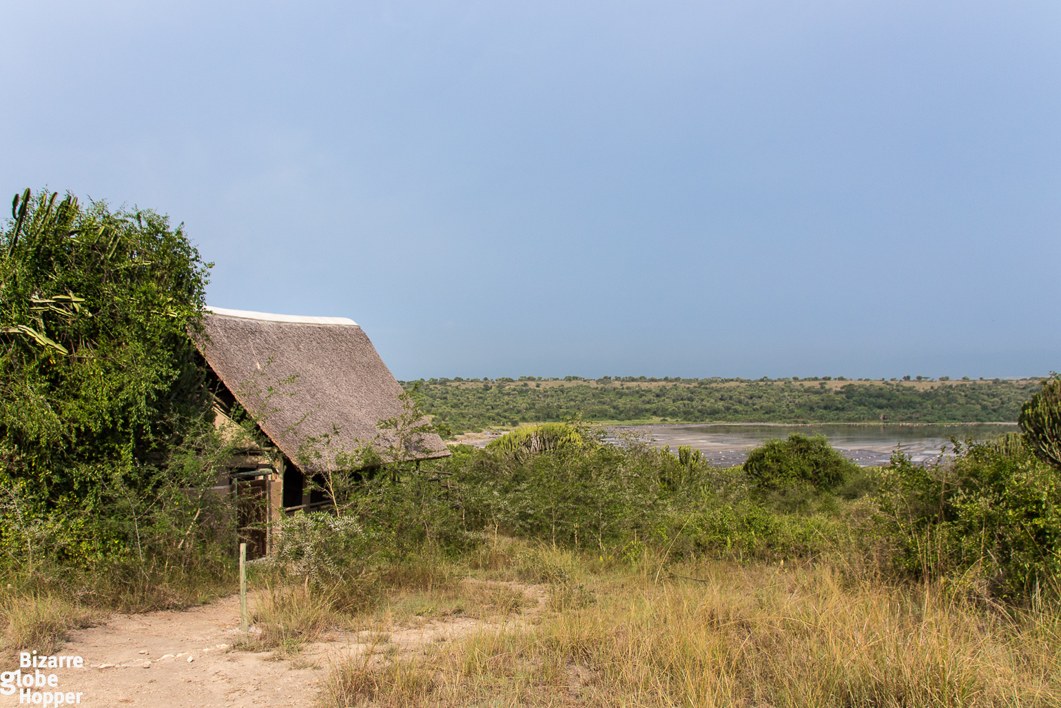 Our tented cottage at Kasenyi Safari Camp in Queen Eizabeth National Park, Uganda