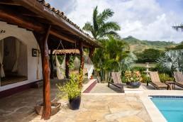 Poolside at Rancho Chilamate, Nicaragua