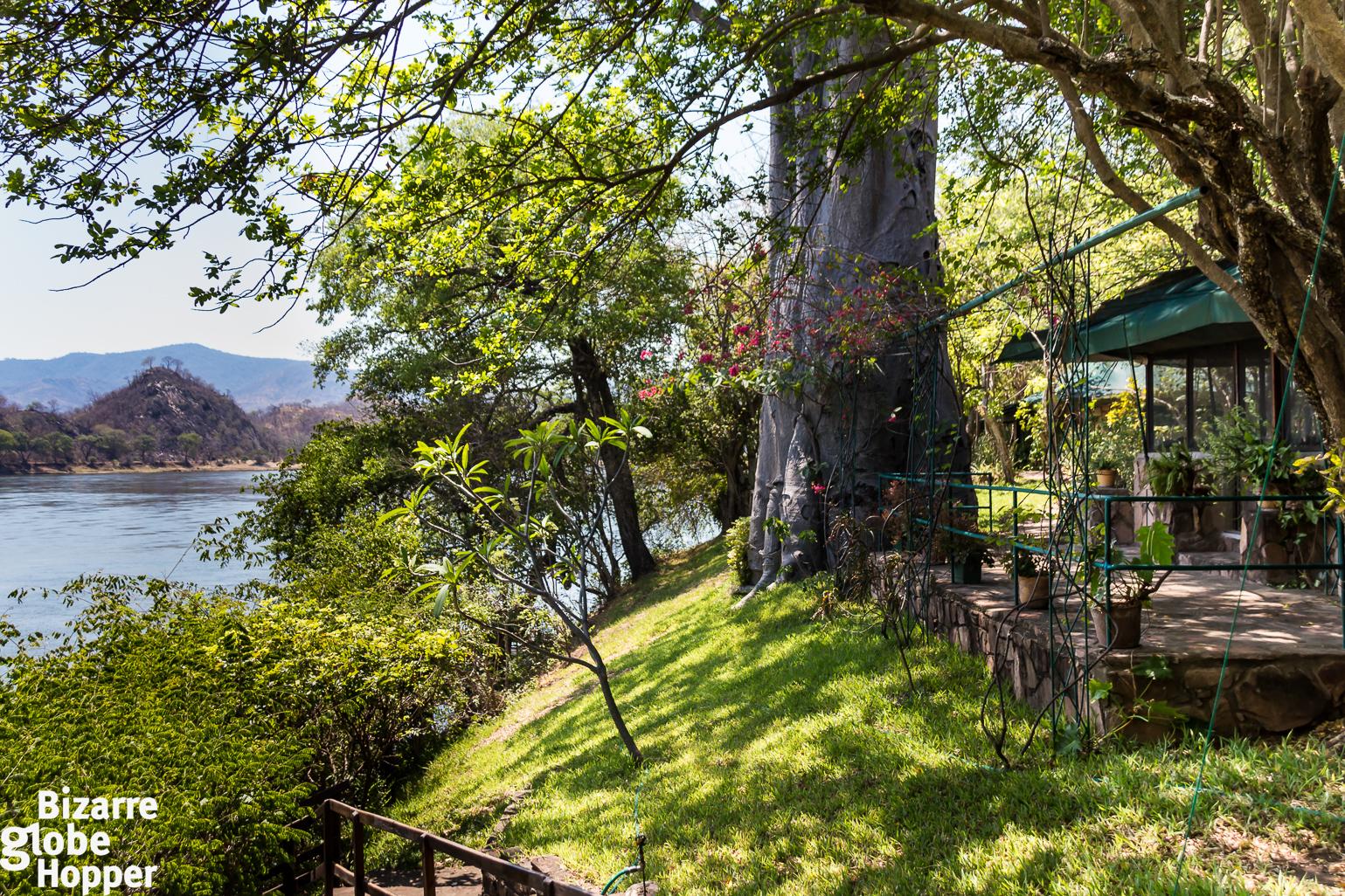 Redcliff Lodge in Lower Zambezi National Park, Zambia