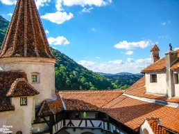 Bran Castle, also known as the Castle of Dracula, Romania