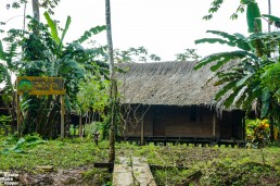 The Communal Rama house in Holy Land/Makenge, Indio Maíz, Nicaragua