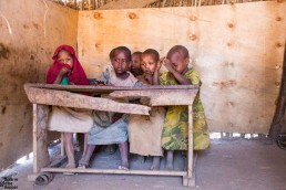 Maasai children in school, Ngorongoro, Tanzania