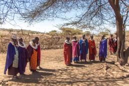 The Maasai women, Ngorongoro, Tanzania