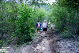 Walking to the Somoto Canyon in Nicaragua