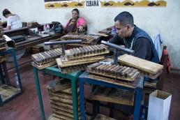 workers in GGI cigar factory esteli nicaragua
