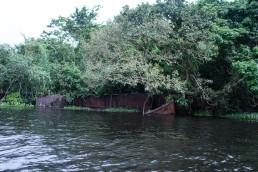 Vanderbilt's old shipwreck near San Juan de Nicaragua