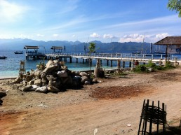 Gili Trawangan's tiny harbor