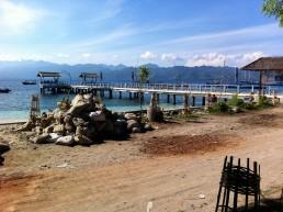 Gili Trawangan's tiny harbor