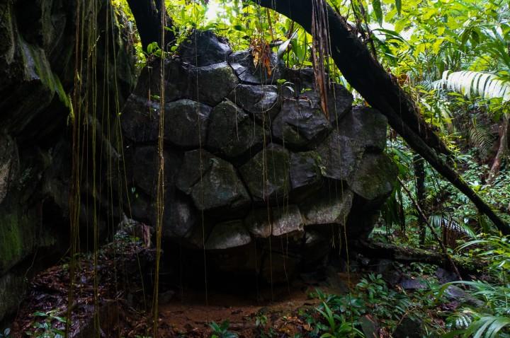 Canta Gallo Rama Indian pyramids deep in the Indio Maiz jungle