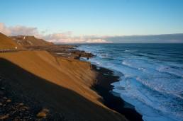 Eastern coast of Iceland