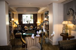 The Beautiful Art Deco Salon of Lord Byron Boutique Hotel
