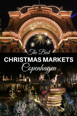 Copenhagen's Christmas markets are among the best in Europe. Wander through Tivoli's Christmas celebrations, sip Danish winter brews, and shop alternative Yule treats in Christiania's Grey Hall. #Copenhagen #christmasmarkets #Denmark #Europe #Christmas #travel