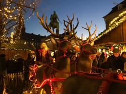 Hojbro Plads' Christmas Market is among our favorites in Copenhagen