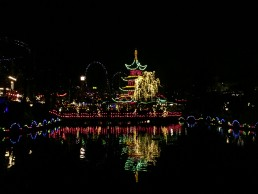 Copenhagen's Tivoli is stunning in Christmas time