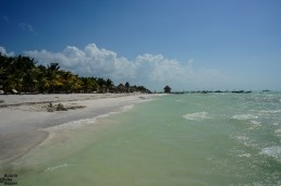 The island of Holbox in Yukatan, Mexico