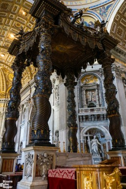 The Pope's seat or Bernini's
