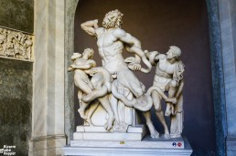 Laocoön, perhaps the most famous Greek statue in the known art history