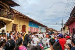 Street carneval at Granada, Nicaragua