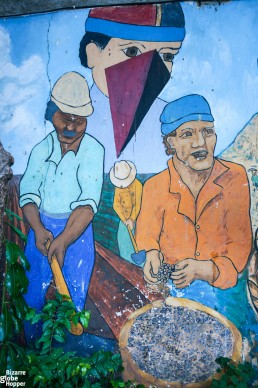 Street art in Esteli, Nicaragua