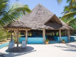 Butiama Beach hotel's adorable beach bar