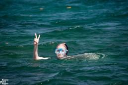Snorkeling at Kinasi Pass, Mafia Island Marine Park